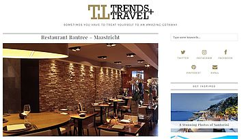 screenshot Artikel restaurant Rantree Maastricht op trends+Travel